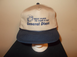 VTG-1990s General Diesel engines garage trucker snapback hat sku12 - $27.83