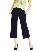 Banana Republic Wide-Leg Crop Pant, Navy Blue, 14, NWT - $65.99