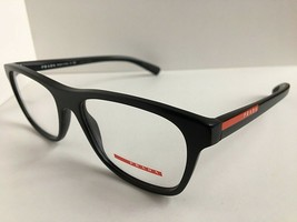 New PRADA Sport VPS 01F 1BO-1O1 Rx  55mm Black Men's Eyeglasses Frame It... - $99.99