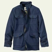 TIMBERLAND MT.HAYES MEN'S NAVY WOOL BLEND TRAVEL JACKET Size M #8146J-109 - $75.59