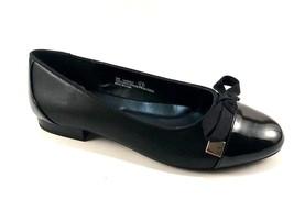 A2 by Aerosoles Handout Black Round Toe Ballet Flats - $59.00