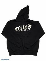 Evolution of Skateboarding Skate Board Sweatshirt Hoodie Gildan Men's Sz... - $12.30