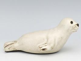 Vintage Mid Century Hyllested Karamik Denmark Baby Harp Seal