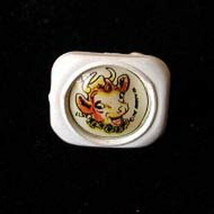 Elsie The Cow Plastic Ring 1950s Premium - $16.99