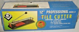 "Qep 12"" Professional Tile cutter Model B Excellent condition - $18.70"