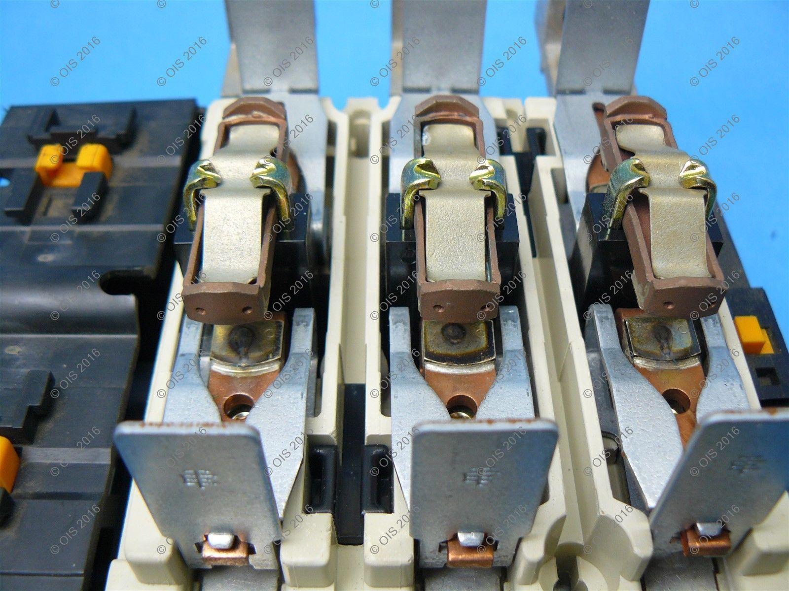 Telemecanique LC1F115G6 IEC Motor Starter 3 Pole 115I//200R Amp 120VAC Used