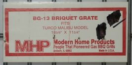 Modern Home Products BG13 Replacement Briquet Grate for Turco Malibu Model image 5