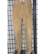 VINTAGE CHAPS by Ralph Lauren Men's 38 x 32 Tan Pleated & Cuffed Corduro... - $29.02
