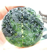 50*50MM  Wholesale natural Chinese stone hand-carved statue of Dragon an... - $9.79