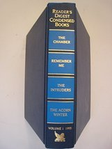 Reader's Digest Select Edition; 1995; Vol #1. (4 books in 1: The Chamber... - $5.46
