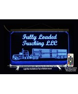 Personalized LED Truck Sign - Cattle Truck, Semi, Man Cave Sign - $94.05+