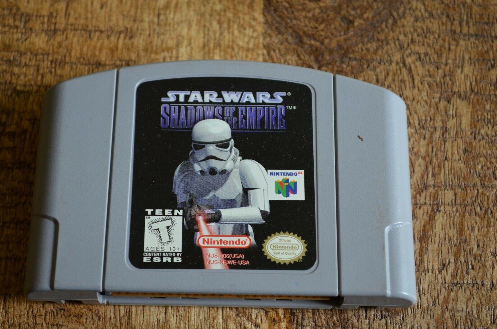 Star Wars Shadows Of The Empire + Rogue Squadron (Nintendo 64) Video Games