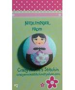 Matryoshka #7 Needleminder fabric cross stitch ... - $7.00
