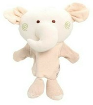Discovery Toys Earthplay Puppets Elephant Doll Rattle Soft Plush Stuffed... - $23.33