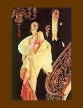 J.C. Leyendecker, Arrrow Collar Advertisement, 1932, Formal, Elegant, Fashion, 8 - $15.99