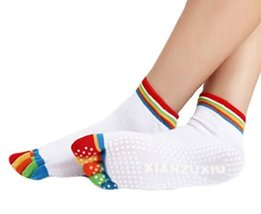 Thicken White Non Slip Warm Socks Cotton Toe Yoga Socks - $178,43 MXN