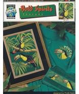 Bold Spirits Toucans, True Colors Cross Stitch Pattern Booklet BCL-10118 - $3.95