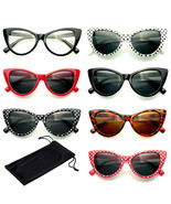 Klassisch Katzenaugen Sonnenbrille Klein Retro Vintage Damen Mode Brillen - $11.22
