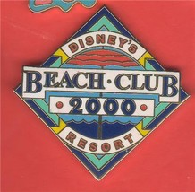 Disney Beach Club Resort  2000  WDW Authentic Disney pin - $10.99