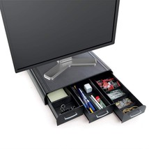 Mind Reader ' Perch' Pc Laptop IMac Monitor Stand and Desk Organizer, Black - €39,47 EUR