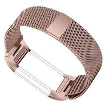Fitbit Charge 2 Bands Stainless Steel Metal Bracelet Strap with Unique M... - $339,41 MXN