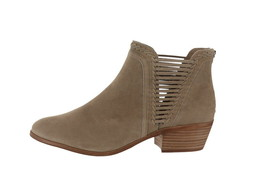 Vince Camuto Leather Suede Booties Pippsy Foxy 12W NEW A343285 - £103.32 GBP