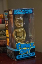 FAMILY GUY BLUE HARVEST BOBBLE HEAD WACKY WOBBLER FUNKO TOY GOLD  LTD. E... - $24.99