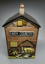 Fitz And Floyd Farm And Country Canister Hard To Find - $46.99