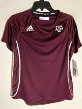 Adidas Women's NCAA TEXAS A&M Aggies Team Jersey Burgundy sz S - $9.89