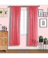 Sequin Room Darkening Window Treatment Panel Drape with Rod Pockets Cora... - $133.83