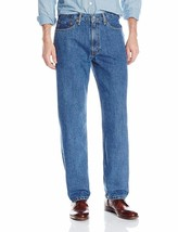 Levi's Strauss 550 Men's Relaxed Fit Straight Leg Jean Medium Stonewash 550-4891