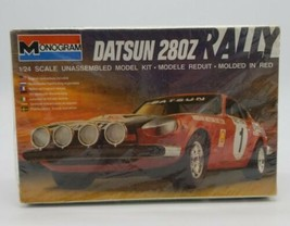 Monogram Datsun 280z Rally 1/24 Scale Unassembled Model Kit Red New Dead Stock - $59.28