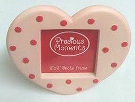 "Precious Moments 2"" X 2"" Heart Photo Frame (Light Pink) - $10.00"