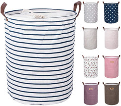 DOKEHOM 17.7-Inches Large Laundry Basket (9 Colors), Drawstring Waterpro... - £14.65 GBP+