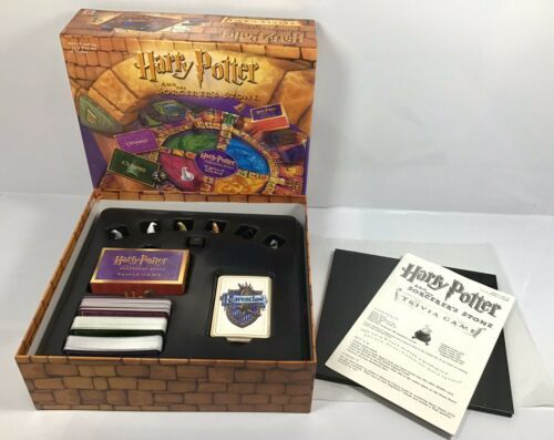 Primary image for Harry Potter and the Sorcerer's Stone Trivia Board Game Mattel COMPLETE
