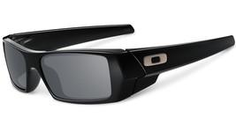 New Oakley Gascan Polished Black w/Grey 03-471 - $88.20
