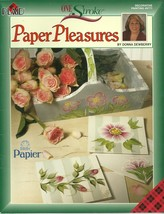 One Stroke Paper Pleasures Plaid Book 9771 Donna Dewberry Decorative Painting - $6.99
