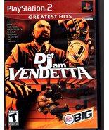 PlayStation 2 : Def Jam Vendetta - $9.95