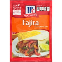 (4 Pack) McCormick Fajitas Seasoning Mix, 1.12 oz - $1.49