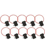 Install Bay ATFH16C-10 ATC Fuse Holder with Cover, 10 pk (16 Gauge) - $26.72