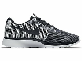 Nike Mens Tanjun Racer Running Sneaker Athletic Shoe 921669 002 Grey Bla... - $62.33