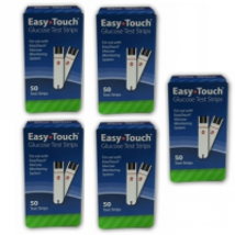 Easy Touch Glucose Test Strips 250Ct bundle deal - $42.00