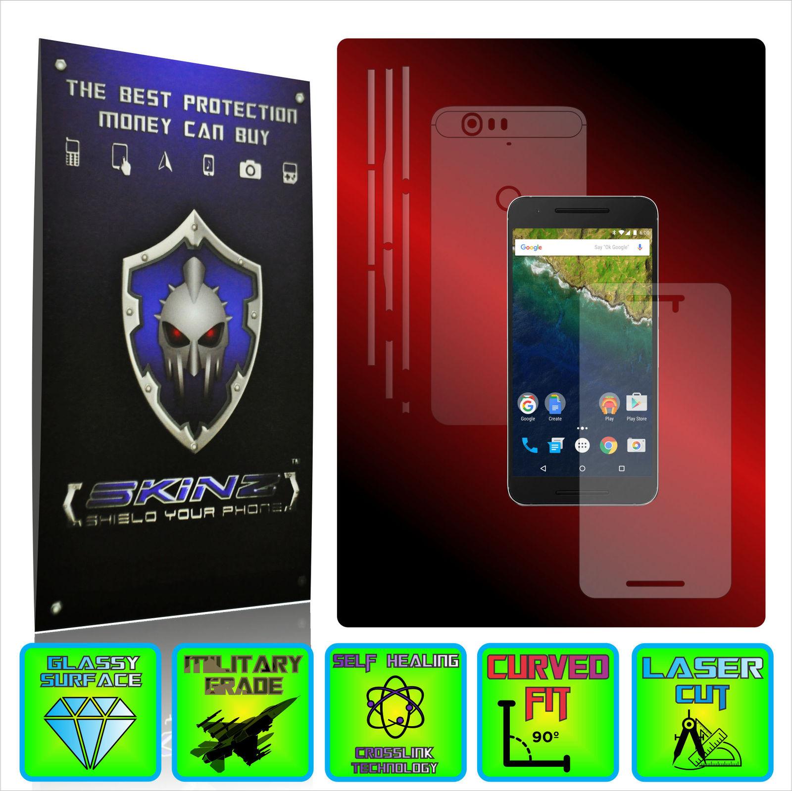 Huawei google nexus 6p   x self healing full body protector invisible shield