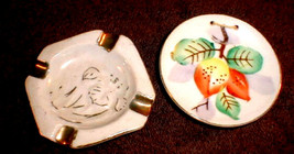 vintage Butter Pat  Occupied Ashtray  Blume - $16.00