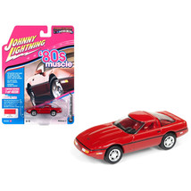 1988 Chevrolet Corvette Bright Red 80s Muscle Limited Edition to 4,036 p... - $14.35