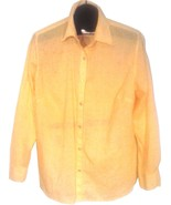 CHARTER CLUB WOMEN'S YELLOW SHEER SHIRT SIZE 18W - $16.88
