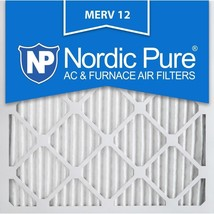 12x12x1 (11_3/4x11_3/4) Pleated MERV 12 Air Filters 6 Pack - $42.18