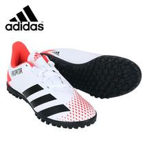 Adidas Jr. Predator 20.4 TF Football Shoes Youth Soccer Cleats White EG0933 - $54.99
