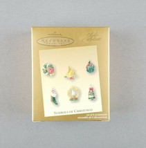 "Hallmark 2003 Keepsake Miniature Ornaments ""Symbols of Christmas"" Club E... - $29.65"