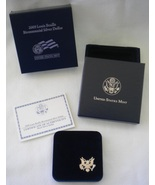 2009 Proof Silver Dollar Louis Braille Bicentennial COA - $26.00